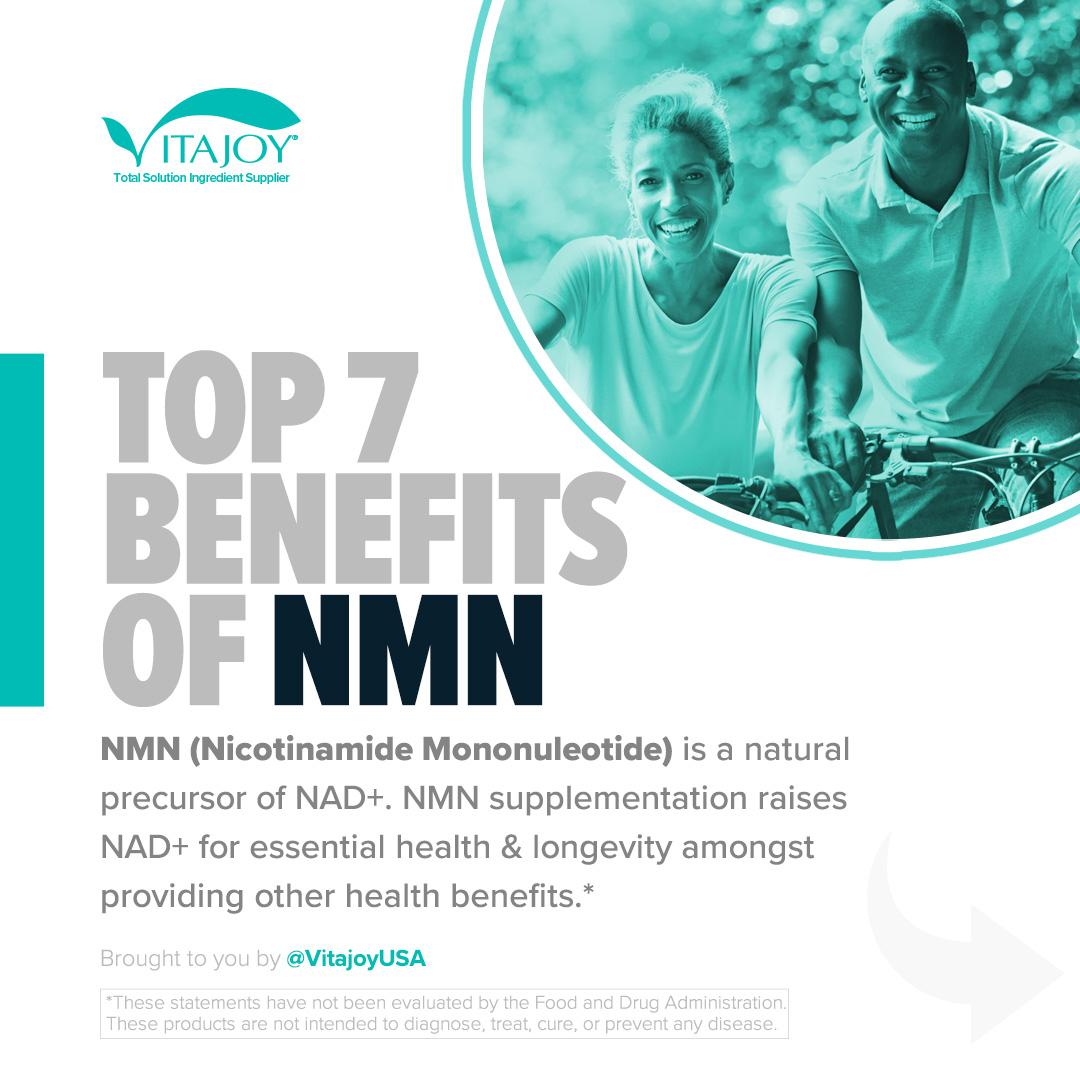 Top 7 Benefits of NMN (Nicotinamide Mononucleotide)